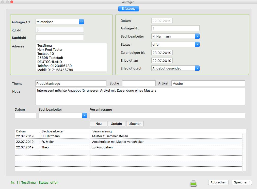 Rechnungssoftware Mac