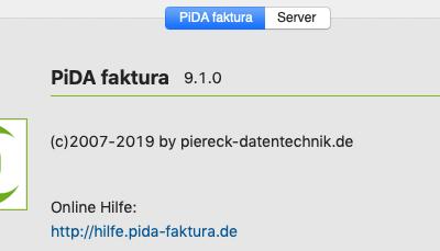 PiDA faktura 9.1 verfügbar